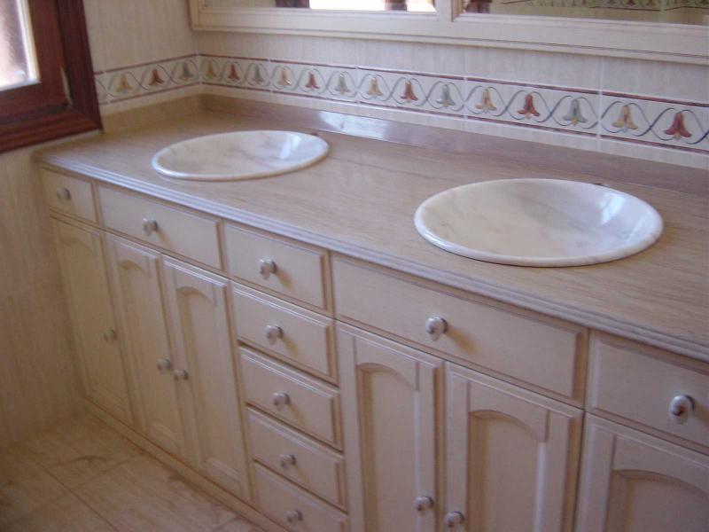 Encimeras de ba o m rmoles jorge garc a for Lavabos de marmol y granito