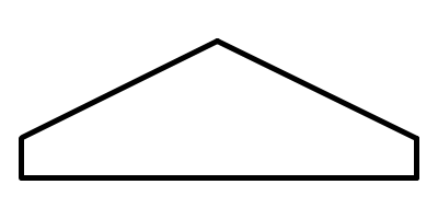 Frente triangular